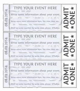 event ticket template 21 premium and free download for pdf word With concert ticket template free download