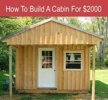 build your own cabin cheap place your ad here loading if you want to build a cabin