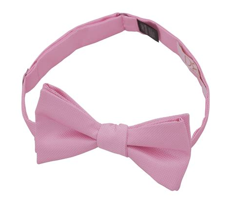 Light Pink Bow Tie by Light Pink Solid Check Self Tie Thistle Bow Tie