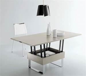 Table Basse Transformable En Table Haute : table basse transformable table haute ikea ~ Teatrodelosmanantiales.com Idées de Décoration