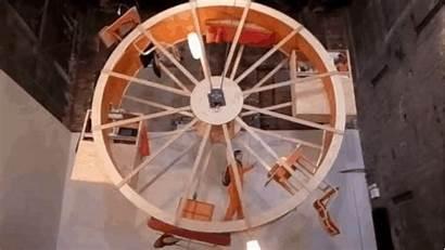 Wheel Spinning Hamster