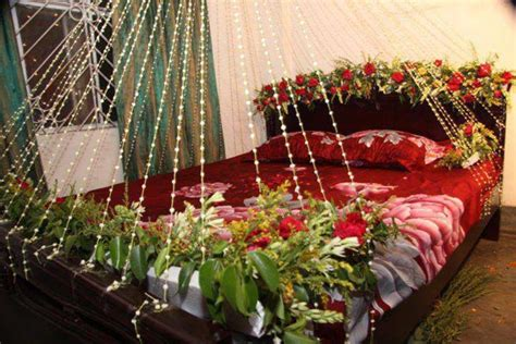 beautiful bridal room decoration masehri  flowers  india