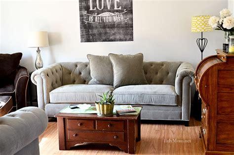 Martha Stewart Saybridge Sofa by Martha Stewart Saybridge Tufted Back Sofa