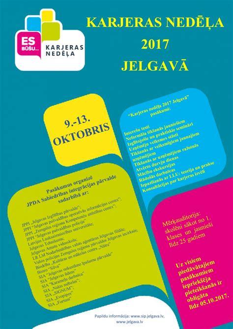 Karjeras nedēļa 2017 Jelgavā - Jelgavas Valsts ģimnāzija