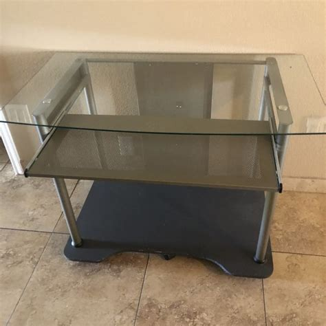 Check out our cafe in downtown peoria! Computer Desk On Wheels for Sale in Peoria, AZ - OfferUp