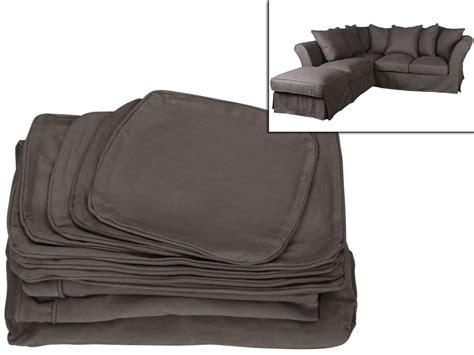 house pour canape d angle housse pour canapé d 39 angle modulable pouf tissu victoire