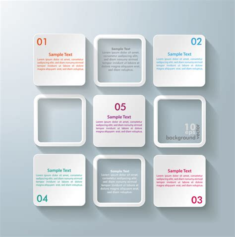 white text boxes backgrounds vector free vector in