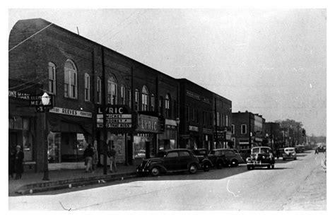 foto de Main Street Easley E218 Easley 1938 35mm B/W negative