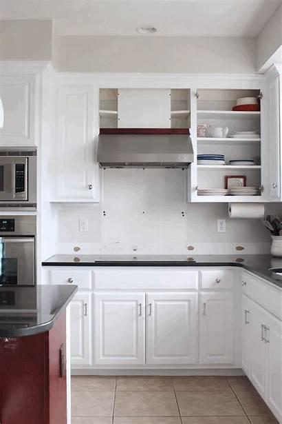 Kitchen Paint Makeover Progress Cabinets Cabinet Hardware