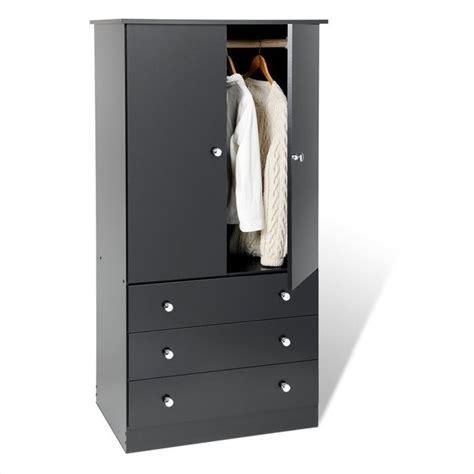 Black Wardrobe Cabinet - prepac black juvenile tv wardrobe armoire ebay