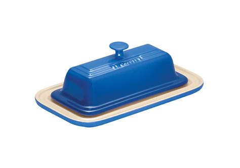 le creuset stoneware butter dish marseille cutlery