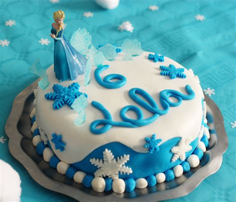 recette cuisine au four gâteau d 39 anniversaire reine des neiges jouonsensemble