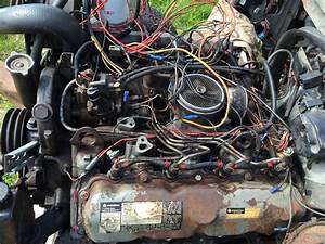 7 3l Idi Ford V8 Diesel Engine And C6 Gearbox  U00a3650