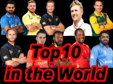 The Best Cricket Top 10 Best Cricket Players In The World
