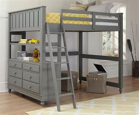 how to build a full size loft bed with desk build loft bed frame full size room decors and design