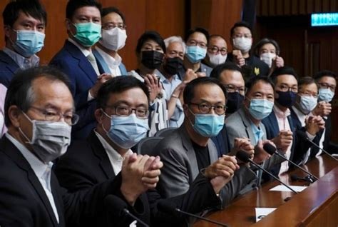 Hong Kong opposition lawmakers to formally tender ...