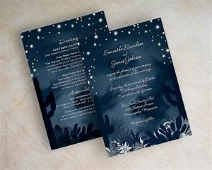 items similar to desert wedding invitations cactus With navy evening wedding invitations