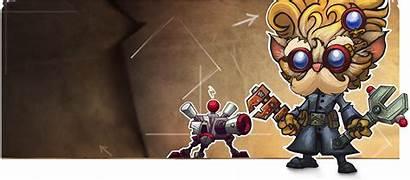 Heimerdinger Legends League Update Visual Yordle Lol