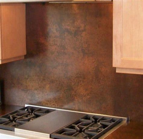 copper backsplash kitchen ideas best 25 sheet metal backsplash ideas on 5784