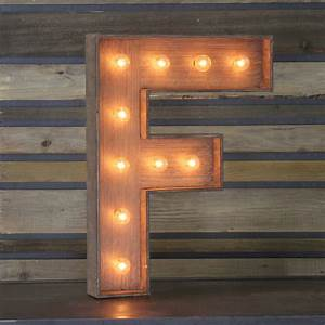 """Edison Marquee Letter - """"F"""" Town & Country Event Rentals"""