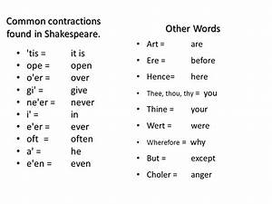 The Oxford English Dictionary Credits Shakespeare With