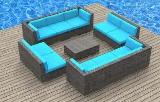 outdoor rattan sofa modern wicker sectional outdoor sofa sets