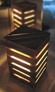 Recyclage Palette : eco design luminaires et meubles en palettes esprit cabane ~ Melissatoandfro.com Idées de Décoration