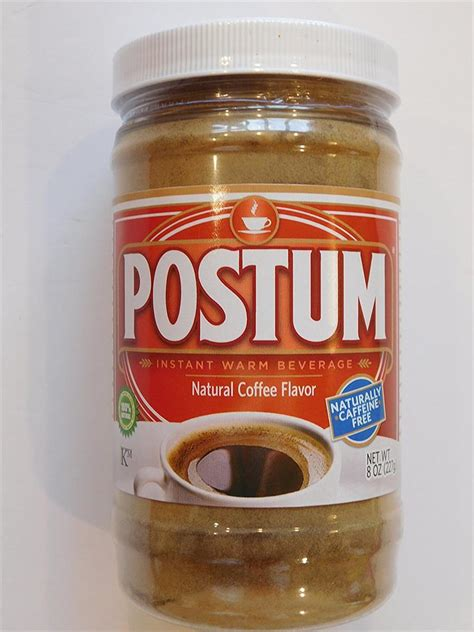 Kahlúa blends beautifully with a number of mixers to create delicious cocktails. Coffee Flavor Postum - Coffee Drink Substitute 8 ounce Available by the single bottle or by a ...