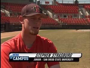 NCAA On Campus - Stephen Strasburg - San Diego State ...
