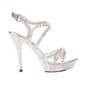 cheap bridesmaid shoes cheap silver high heels fs heel