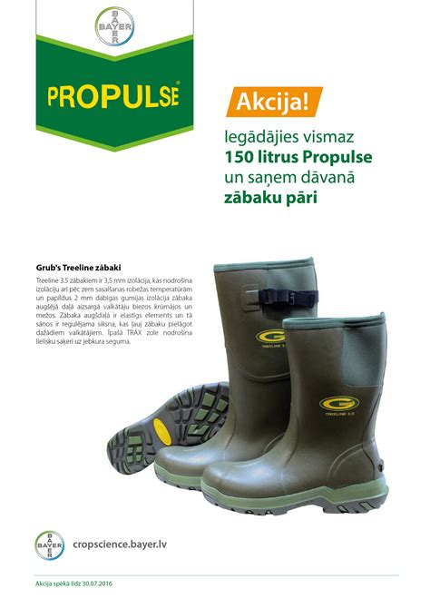 Propulse akcija - Bayer Crop Science Latvija