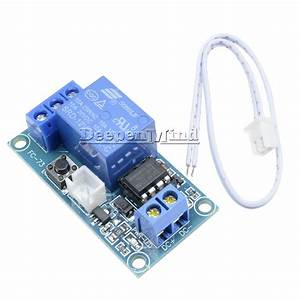 New 12v 1 Channel Latching Relay Module With Touch