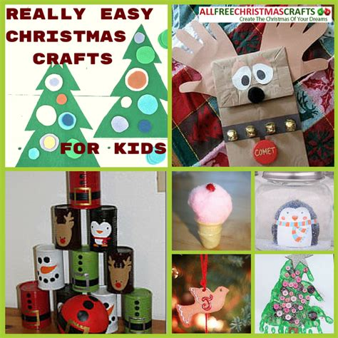 37 really easy christmas crafts for kids