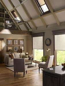 Stores occultants selon l39interieur et le type de la fenetre for Luminaire chambre enfant avec fenetre de toit bois