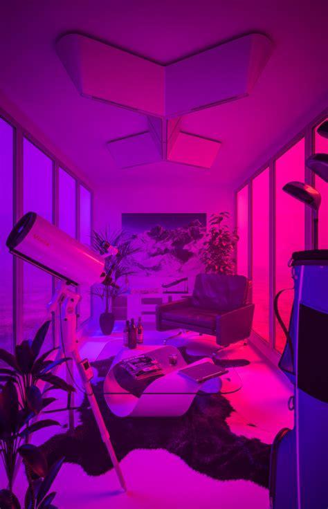 laughton neon aesthetic purple aesthetic neon