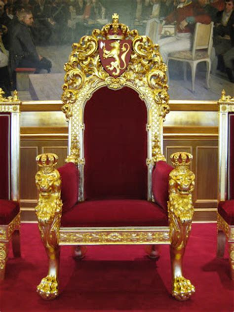 Used Crown Royal Chair by Trond Nor 233 N Isaksen What To See The Throne Of
