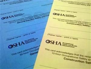 how to print osha 10 hour cards With osha 10 card template