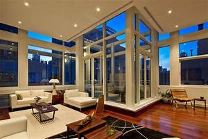Architecture: Apartments Luxury Modern Manhattan Penthouse ...