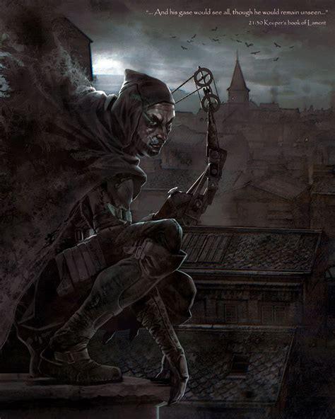 garrett illustration thief art gallery