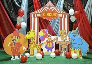 Circus Kit #2 Cardboard Cutout Standup Prop - Dino Rentos