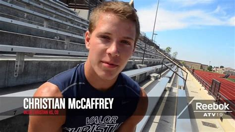 play multiple sports christian mccaffrey interview