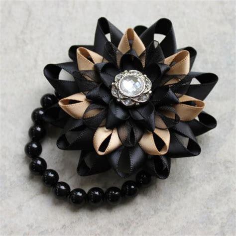 wrist corsage flower corsage bracelet black corsage