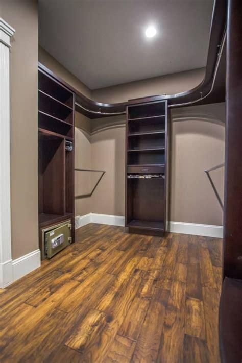 custom walk closet curved shelves rods built safe build closet closet