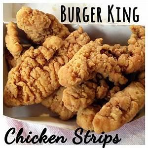 Review & Taste Test: Burger King Chicken Strips