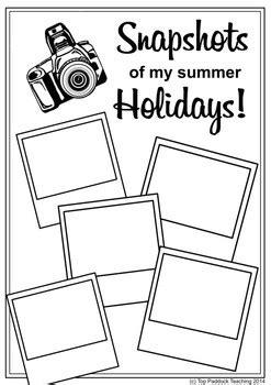 snapshots   summer holidays  top paddock teaching tpt