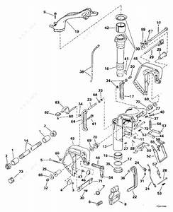 Evinrude 1998 8 - E8freca  Midsection