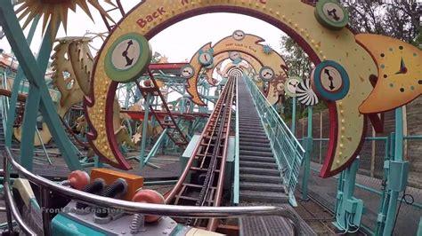 primeval whirl fps pov animal kingdom roller coaster