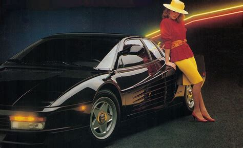 blueprint houses 1985 testarossa archived road test review car