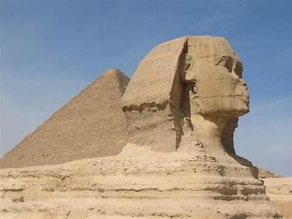 Sphinx Pyramid Landmark Egypt