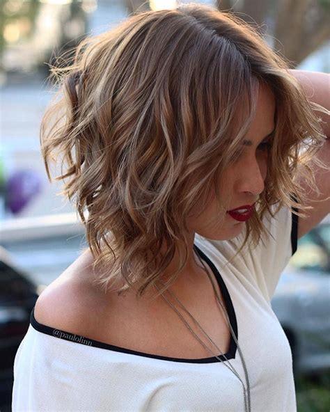 short wavy hairstyles